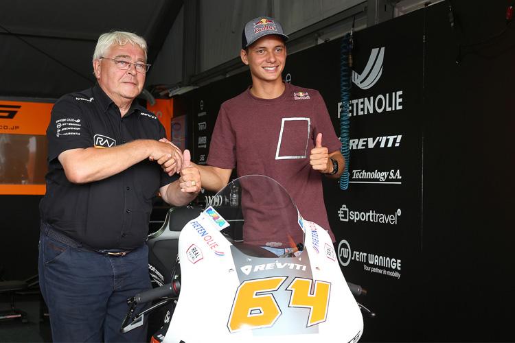 Bendsneyder signs for RW Racing GP